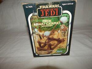 Star Wars ROTJ 1983 Vintage Kenner Ewok Assault Catapult Complete & Works!