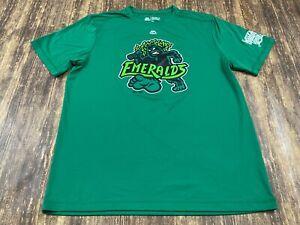 Eugene Emeralds Men's Green MILB Baseball T-Shirt - Majestic - Large