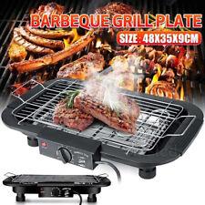 Elektro Beef Grill 2000W Rauchfrei BBQ Balkon Garten Tischgrill Innen & Außen