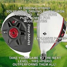 #1 DRIVING IRON WOOD CUSTOM GOLF HYBRID LONG DRIVER NON-CONFORMING PGA DISTANCE