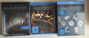 Game of Thrones | Steelbook & Digipack | Staffel 1 - 6 | Blu-Ray | neuwertig