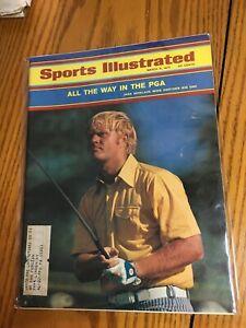 FM4-33 Sports Illustrated Magazine 3-8-1971 Jack Nicklaus Golf