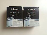 2 x ORIGINAL  SAECO PHILIPS Aqua Clean Kalk + Wasserfilter  CA 6903/00