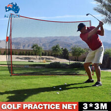 10FT Golf Practice Net Exercise Training Aid Driving Impact Screen Netting AU