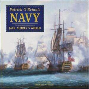 Patrick O'Brian's Navy hardcover dustjacket; Richard O'Neill editor