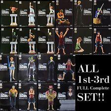 Banpresto One Piece DRAMATIC SHOWCASE Figure 1st - 3rd season Complete Set NEW