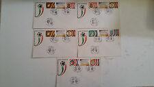 BUSTE FDC ITALIA'90 bari nuovo stadio