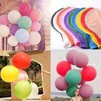 2Pcs 36inch Big latex Balloons Wedding Party Birthday Celebration Decor 12Colors