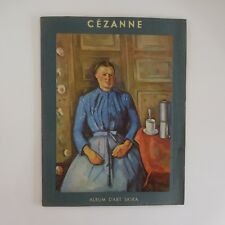CEZANNE 7 planches album éditions art SKIRA Suisse 1966