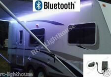 RV LED Camper Awning 16 fT LED Light Set BLK Remote Bluetooth WIFI 5050