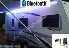 RV LED Camper Awning 16 fT LED Light Set BLK Remote Bluetooth WIFI 5050