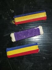 WWII US navy Marine USMC PUC and Gallantry Ribbon Set x3