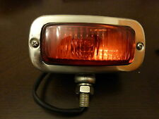 Land Rover Series 1/2/2a/3 Stainless Steel Chrome & Glass Period Rear Fog light