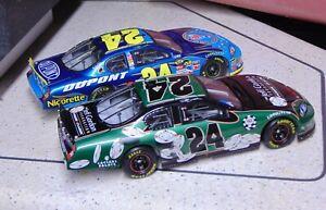Nascar Diecast Action Elite 1:24 Jeff Gordon  (2) cars #24 chevys