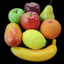 Artificial Fruit Plastic Fake Variety Food Lifelike Home Kitchen Display Decor
