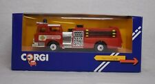 1984 Corgi Diecast Mack Fire Engine #1185 Great Britain Collection