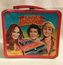 The Dukes of Hazzard Lunchbox Vintage 1980 No Thermos