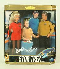 Star Trek Ken And Barbie Gift Set 30th Anniversary MIB Mattel