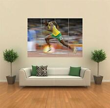 USAIN BOLT RUNNER ATHLETE NEW GIANT LARGE ART PRINT POSTER PICTURE WALL G802