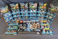LEGO DIMENSIONS SUPERGIRL GREENARROW PS4 STARTER LEVEL TEAM FUN PACK LOT OF 26