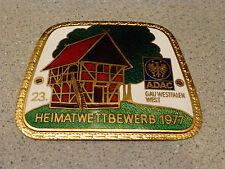 23. Heimatwettbewerb 1977 ADAC Gau Westfalen-West Badge emblem A. Rettenmaier
