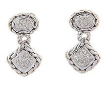 John Hardy Diamond Drop Earrings
