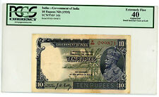 India … P-16b … 10 Rupees … ND(1935) … *XF*  PCGS 40.
