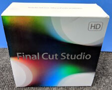 FINAL CUT PRO 7 STUDIO 3 HD - FULL RETAIL (MB642Z/A) COMPLETE! EXCELLENT!