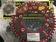DID  Kettensatz  HONDA CR 250 87-07      CRF 450   2002-2012  Rot verstärkt