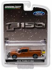 NEW 1:64 Greenlight *HOBBY EXCLUSIVE* 2015 Ford F150 Pickup Truck w/SNOWPLOW NIP