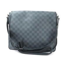 Authentic LOUIS VUITTON DAMIER GRAPHITE DANIEL MM N58029 #260-002-185-8062