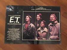 FOTOBUSTA   - E.T. L'EXTRA-TERRESTRE -STEVEN SPIELBERG 1982 SCI-FI 2B