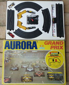 Aurora AFX Gp 4050 Zolder - Complete Package With 2 TYCO Formula 1 Cars (SE232)