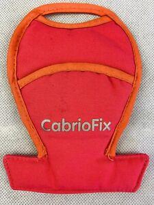 Genuine Maxi Cosi Baby Car Seat crotch pad cover Cabriofix Buckle Protector Pink