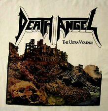 DEATH ANGEL cd cvr ULTRA VIOLENCE Official WHITE SHIRT LRG new