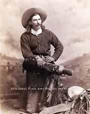 WESTERN COWBOY BUCK TAYLOR VINTAGE PHOTO HAT BOOTS SPURS OLD WEST   #20677