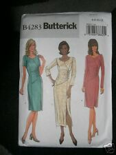 Butterick Pattern 4283 Womens 6-8-10-12 semi fitted DRESS Princess Seams Zipper