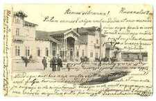 Russian Imperial Town View Vyborg Wiborg Wiipuri Railway Station Finnish PC 1902