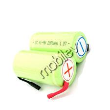 15 x SubC Sub C NiMH 2900mAh Rechargeable Battery Tab G