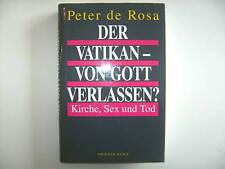DER VATIKAN VON GOTT VERLASSEN PETER DE ROSA KIRCHE SEX