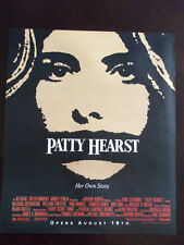 1988 Patty Hearst Her Own Story Movie Advertisement
