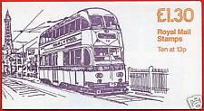 Fl5b £1.30 Trams Blackpool 3 Rm Folded Booklet