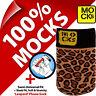 Mocks Leopardata Cellulare MP3 Astuccio a Forma di Calzino per Iphone 4 4S 5 5S