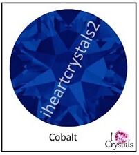 COBALT BLUE 20ss 5mm 72 pieces SWAROVSKI Crystal Flatback Rhinestones 2088
