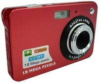 CLN Sports Camera, Portable Mini Digital Camera 18MP 2.7 inch TFT LCD Screen 8X