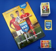 PANINI FIFA 365 2021, complete loose sticker set + empty album