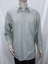 Men's 15 1/2, 33/33 Light Olive Green DKNY Dress Shirt