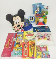 90's Mickey Mouse Unlimited Disney World Mixed Lot Vintage Magic Eye Hat Watch