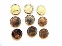 "1950 - 1975 Netherlands Ten (10) Cent Coin ""One Random Pick Coin Per Order"""