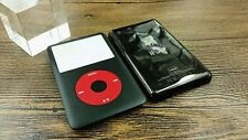 new black front faceplate metal back housing case for iPod 6th gen classic 160gb